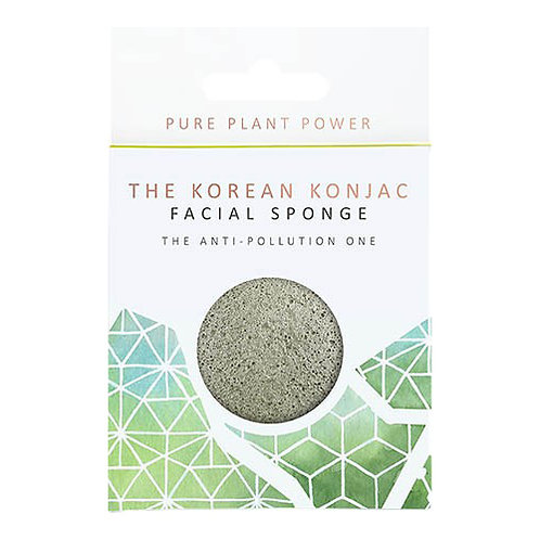 THE ELEMENTS EARTH WITH ENERGISING TOURMALINE FACIAL SPONGE