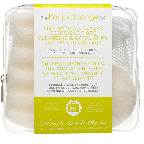 100% PURE KONJAC DELUXE DUO TRAVEL PACK | 100% PURE KONJAC