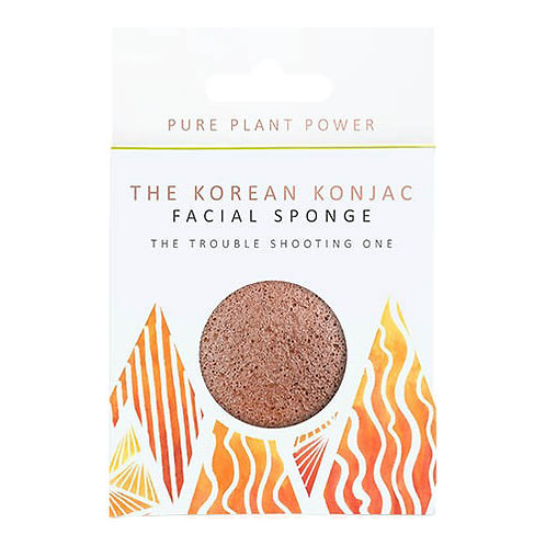 THE ELEMENTS FIRE WITH PURIFYING VOLCANIC SCORIA FACIAL SPONGE
