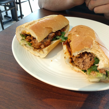 Meatball Sandwich (Banh Mi)