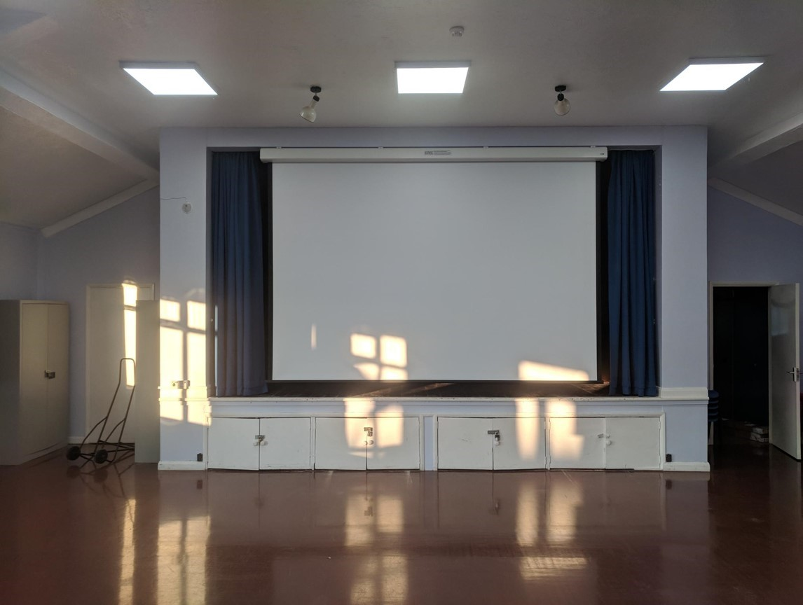 Hall Projector