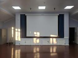Hall Projector
