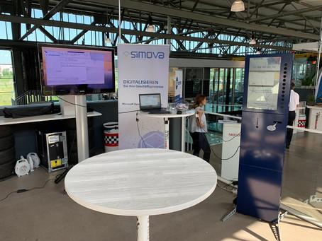 Mobile Leidenschaft trifft digitale Transformation - Simova beim BE-terna Kundentag