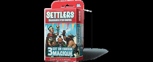 Settlers : Extension 3 est un chiffre magique