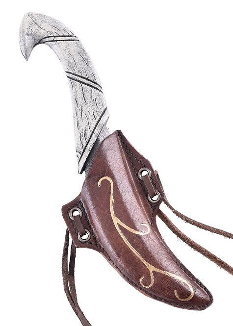 Couteau de Lancer Elfique avec Fourreau