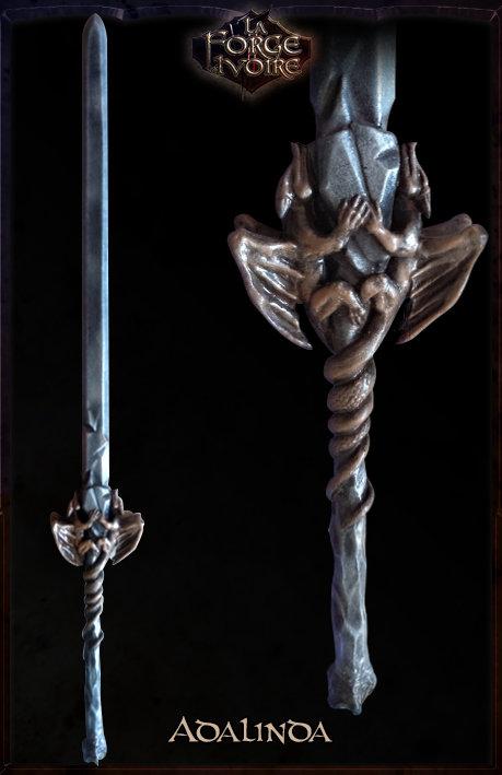 Epée ADALINDA 110 cm