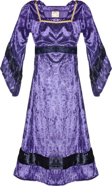 Robe de châtelaine MARION Violet