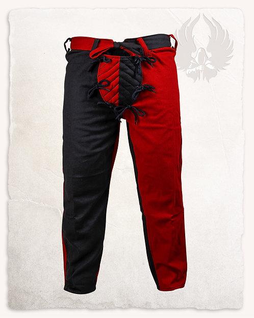 Pantalon GUSTAV Bordeaux et Noir