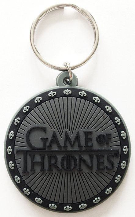 Porte-clés caoutchouc Games of Thrones 6 cm