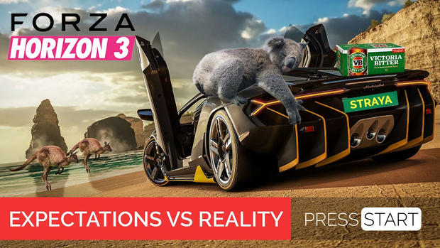 Forza Horizon 3: Expectations vs. Reality