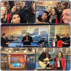 Selfies at FOX16!