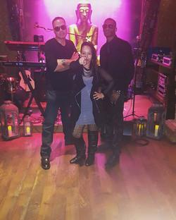We Ready!!! 🎹🌟🔥🎤🎶🍀 #HouseOfBluesAnaheim #foundationroom #bands #trio #musiclovers #livemusic #