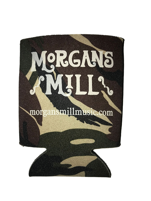 "Morgans Mill ""where's my beer?!"" Camo Koozie"