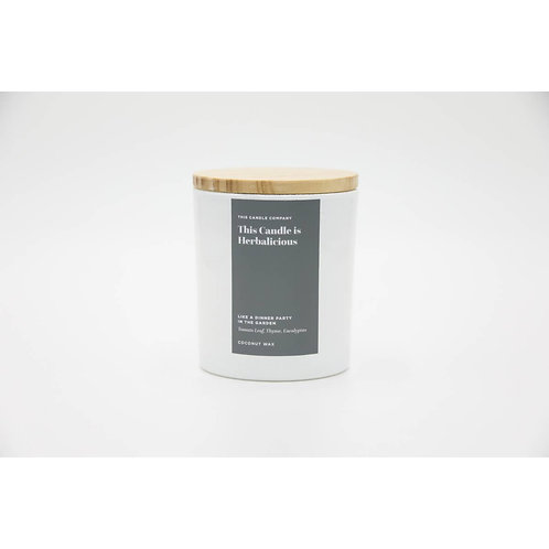THIS CANDLE IS HERBALICIOUS | COCONUT WAX | 10oz