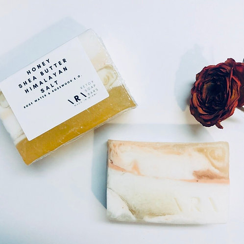 HONEY SHEA BUTTER | 3 OZ SOAP BAR