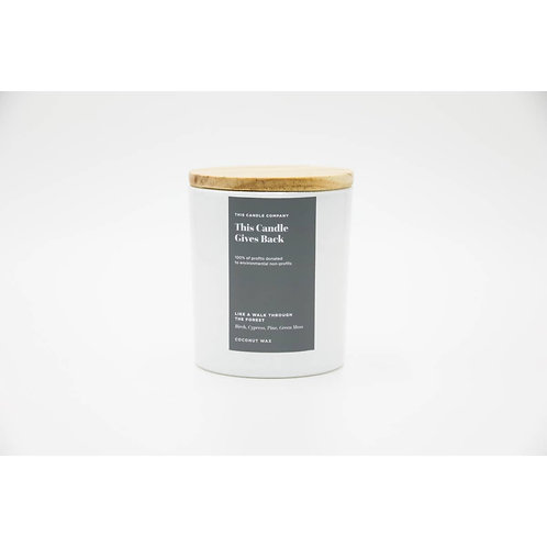 THIS CANDLE GIVES BACK   COCONUT WAX   10oz