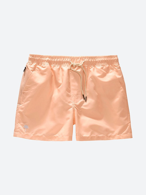SOLID PEACH | SWIM SHORTS