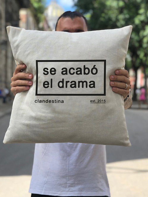 SE ACABÓ EL DRAMA | THROW PILLOW CASE