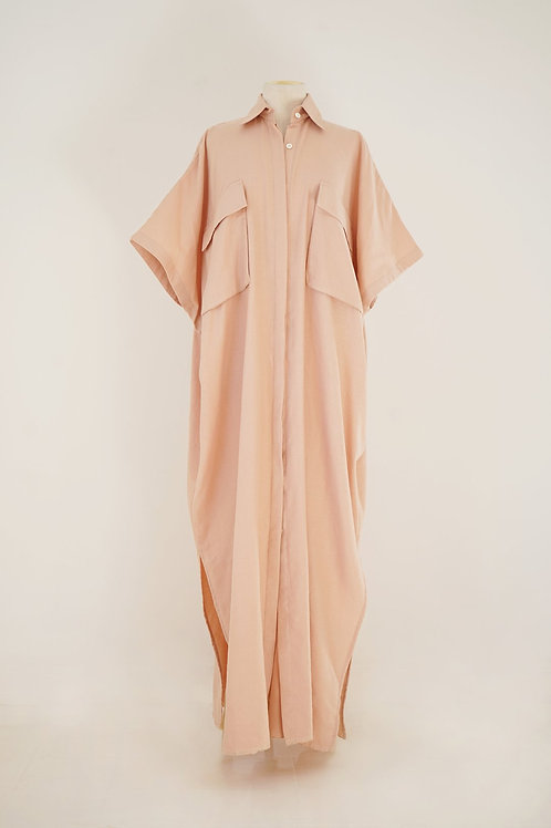 BLUSH POCKET CAFTAN