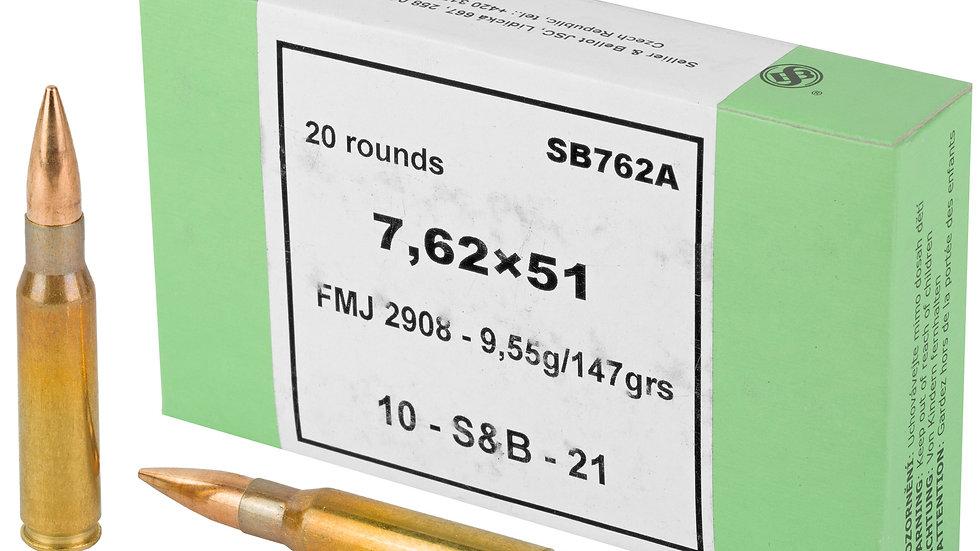 S&B 7.62x51 NATO