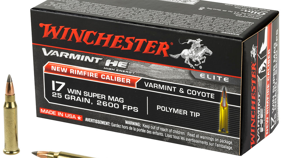 17WSM Varmint HE Winchester