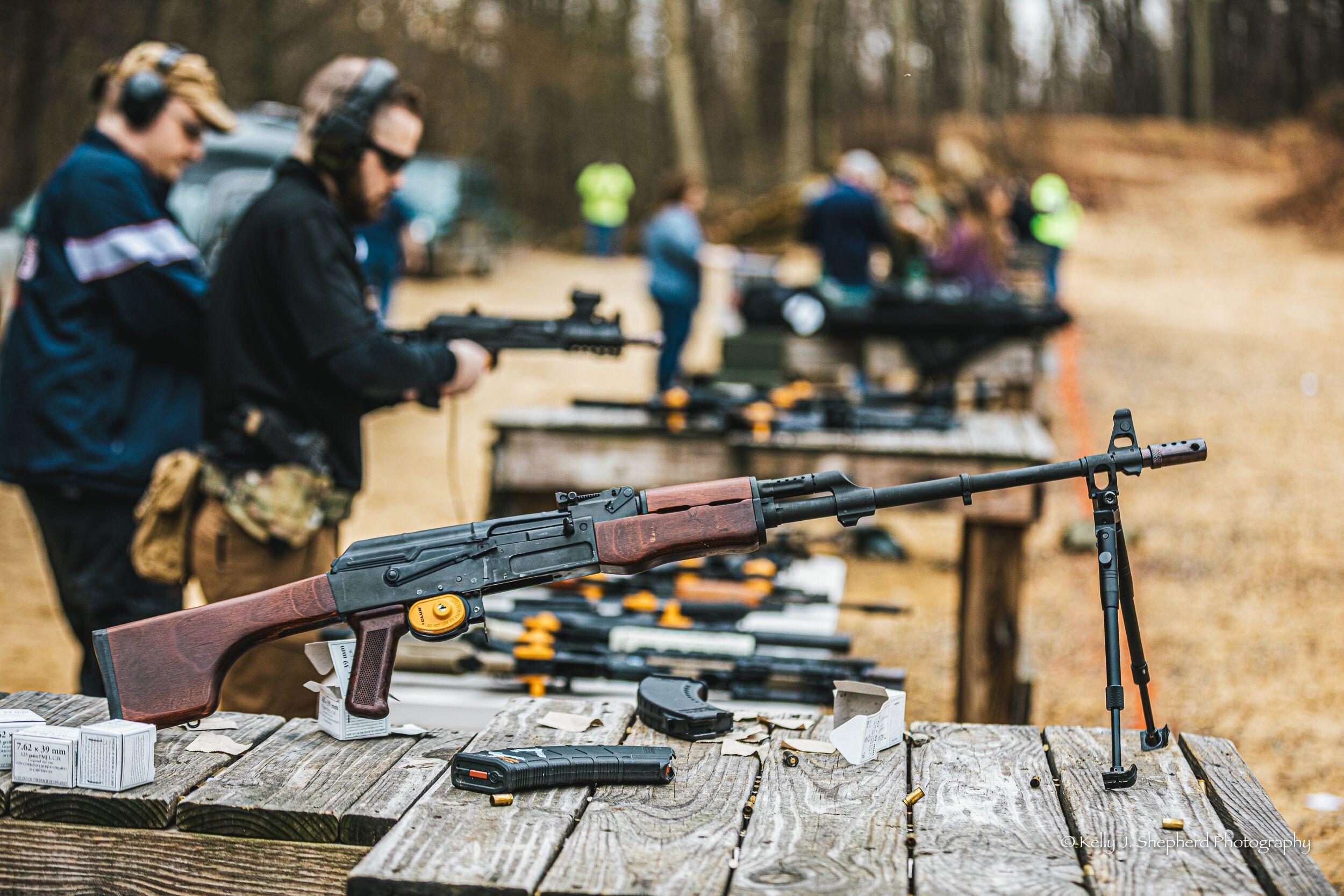 Birthday Machinegun Range Day
