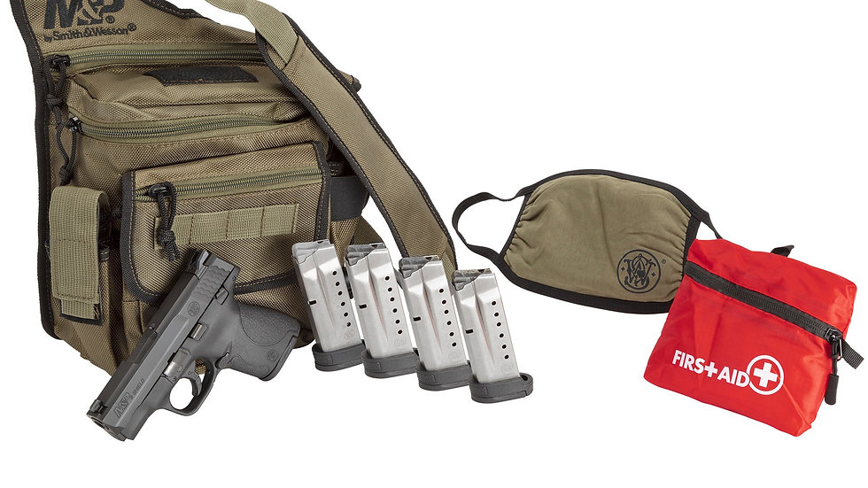 Smith & Wesson, M&P9 Shield  Bugout Bag