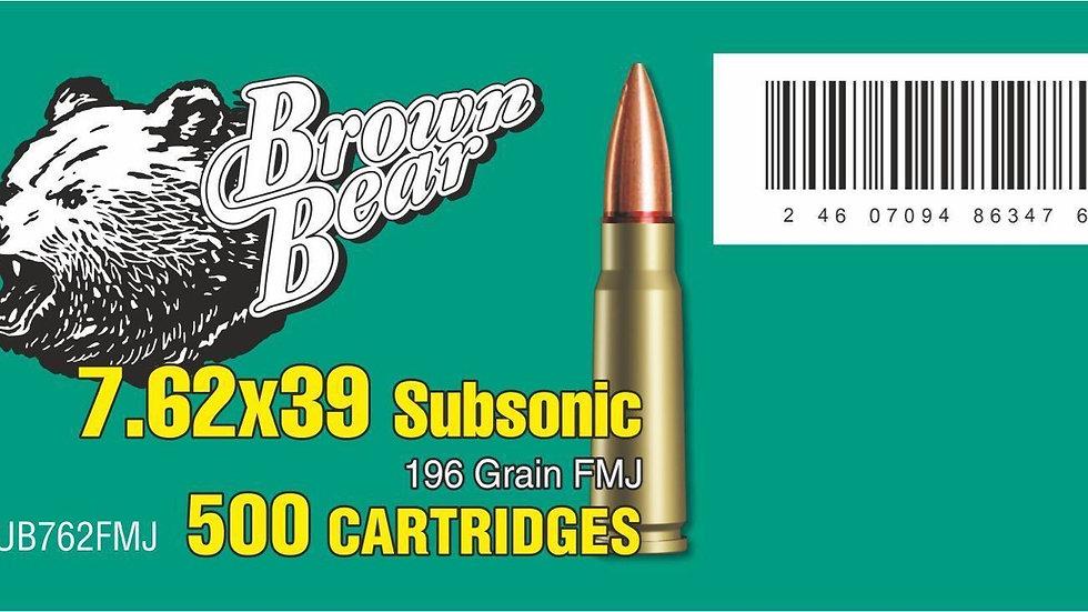7.62x39mm 500 Round Case
