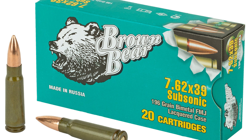 7.62 x 39 FIME Subsonic