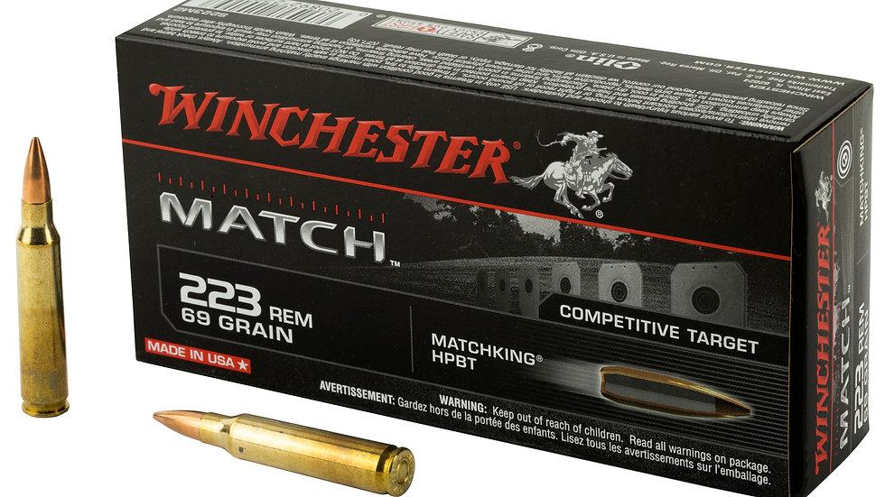 Winchester Match BTHP 223 Remington