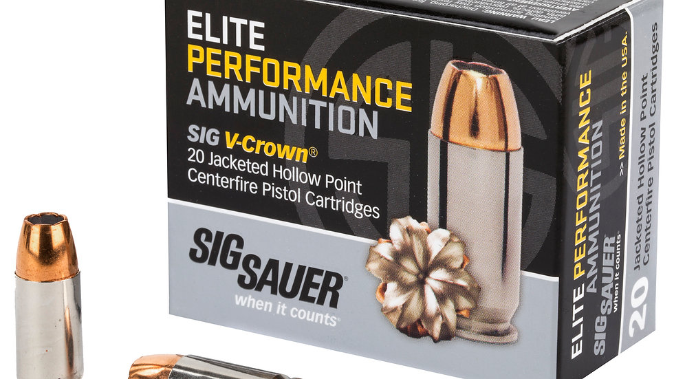 Sig Sauer V-Crown 9mm JHP