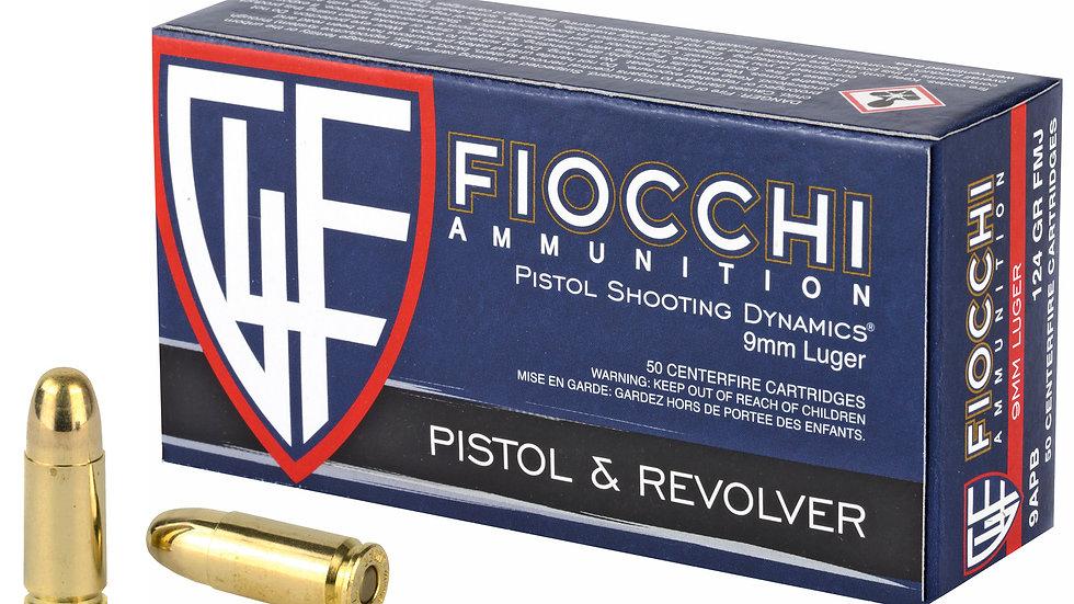 Fiocchi 9mm FMJ