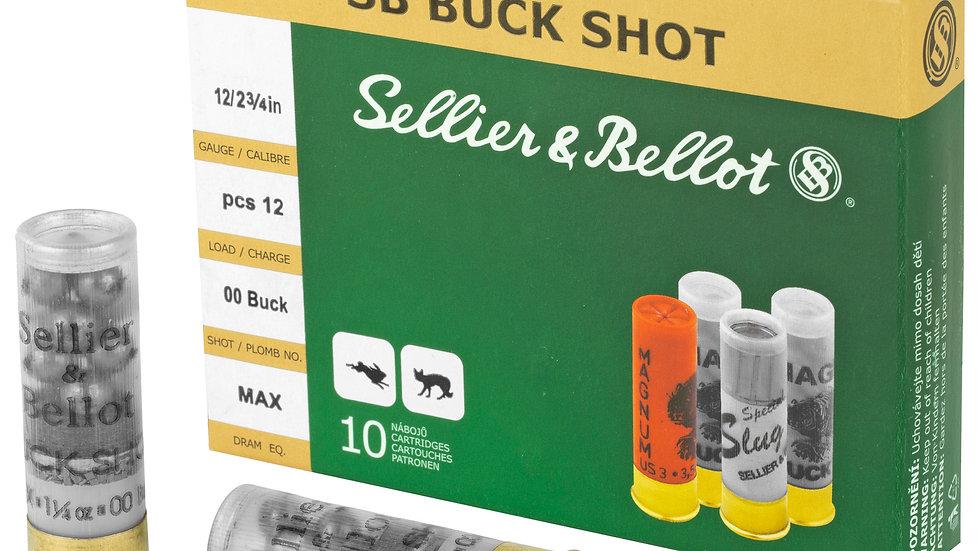 S&B 12 Gauge 00 Buck