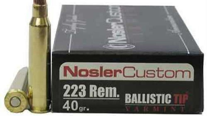 Nosler 223 Remington