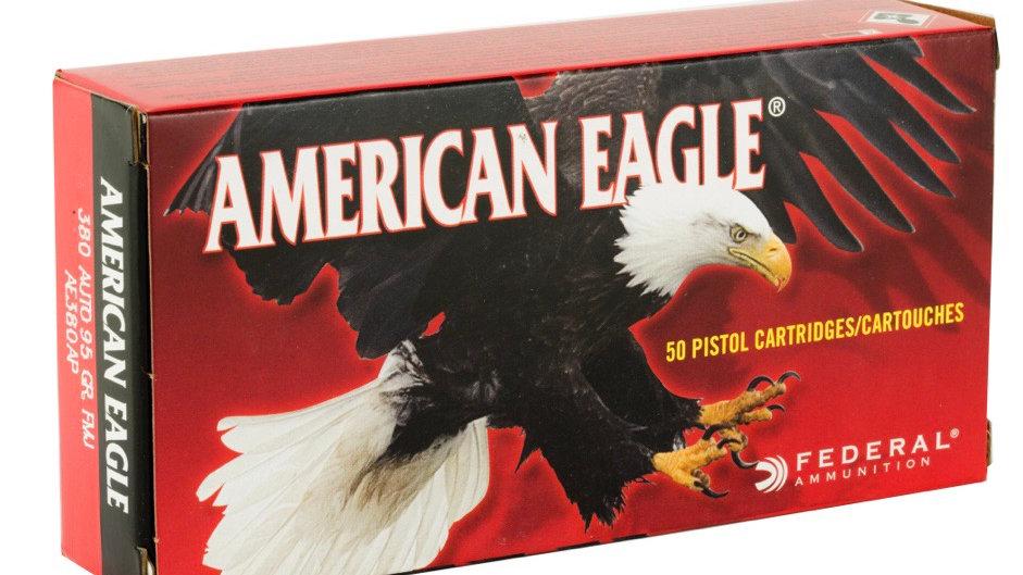 380 ACP Federal American Eagle