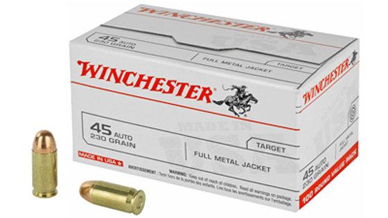 Winchester 45ACP - 100 Round Box