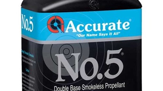 Accurate Number 5  Smokeless Powder 1LB