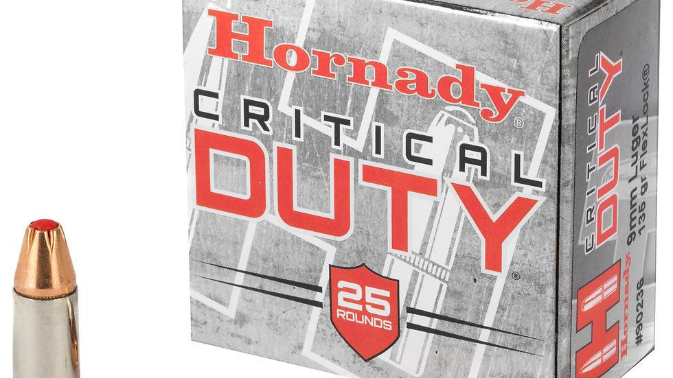 Hornady Critical Duty 9mm