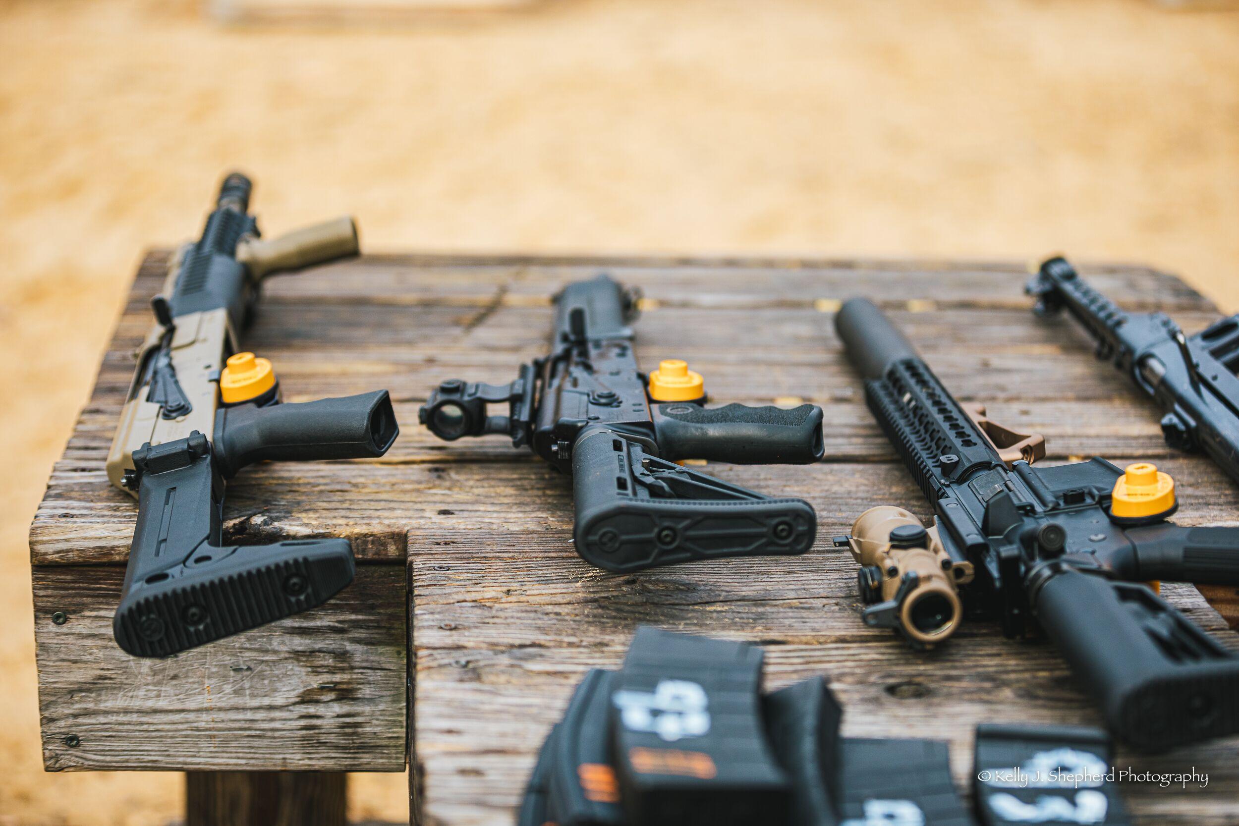 Wedding Machinegun Range Day