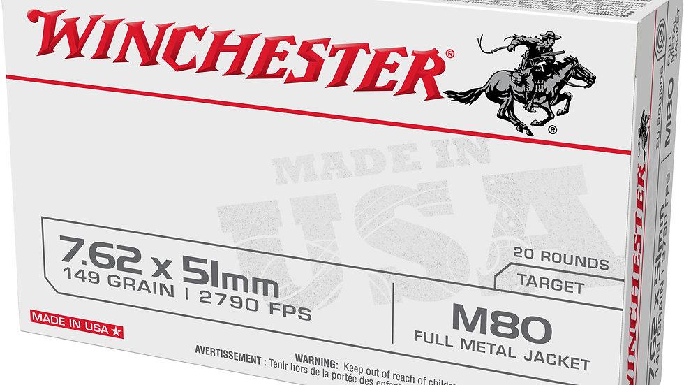 Winchester 7.62x51 M80