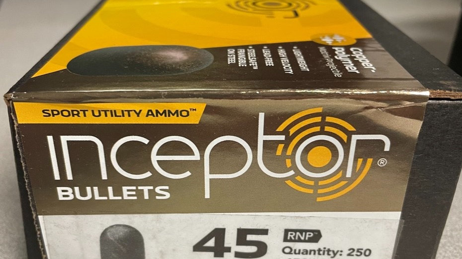 Inceptor 45 ACP Frangible Lead Free Projectiles