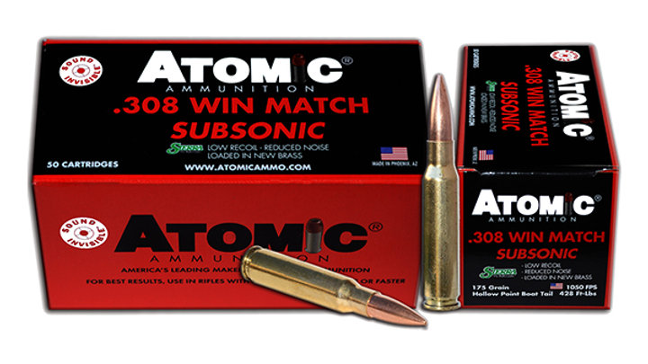 Atomic 308 Winchester Subsonic Match