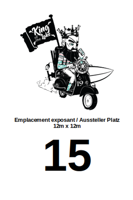 Stand emplacement N°15