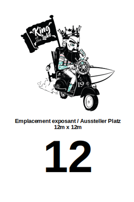 Stand emplacement N°12