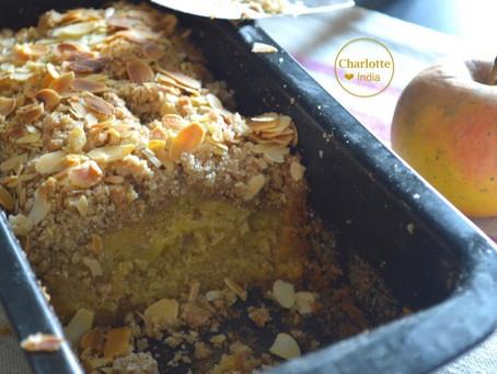 Cake aux pommes façon crumble