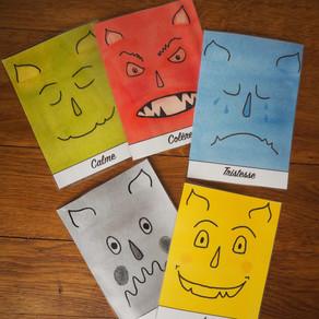 Nos cartes des émotions - À TÉLÉCHARGER