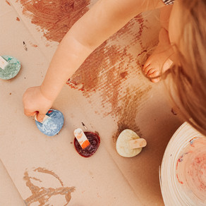 Glaçons de peinture