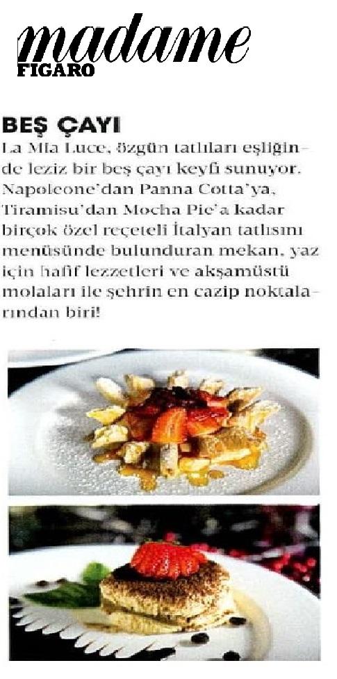 MADAME FIGARO TÜRKİYE 2018-08-01