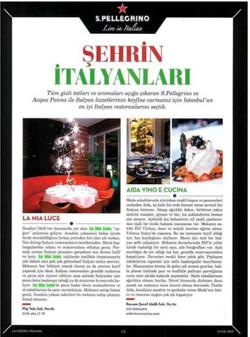 La Cucina İtaliana Dergisi Eylül Sayısı