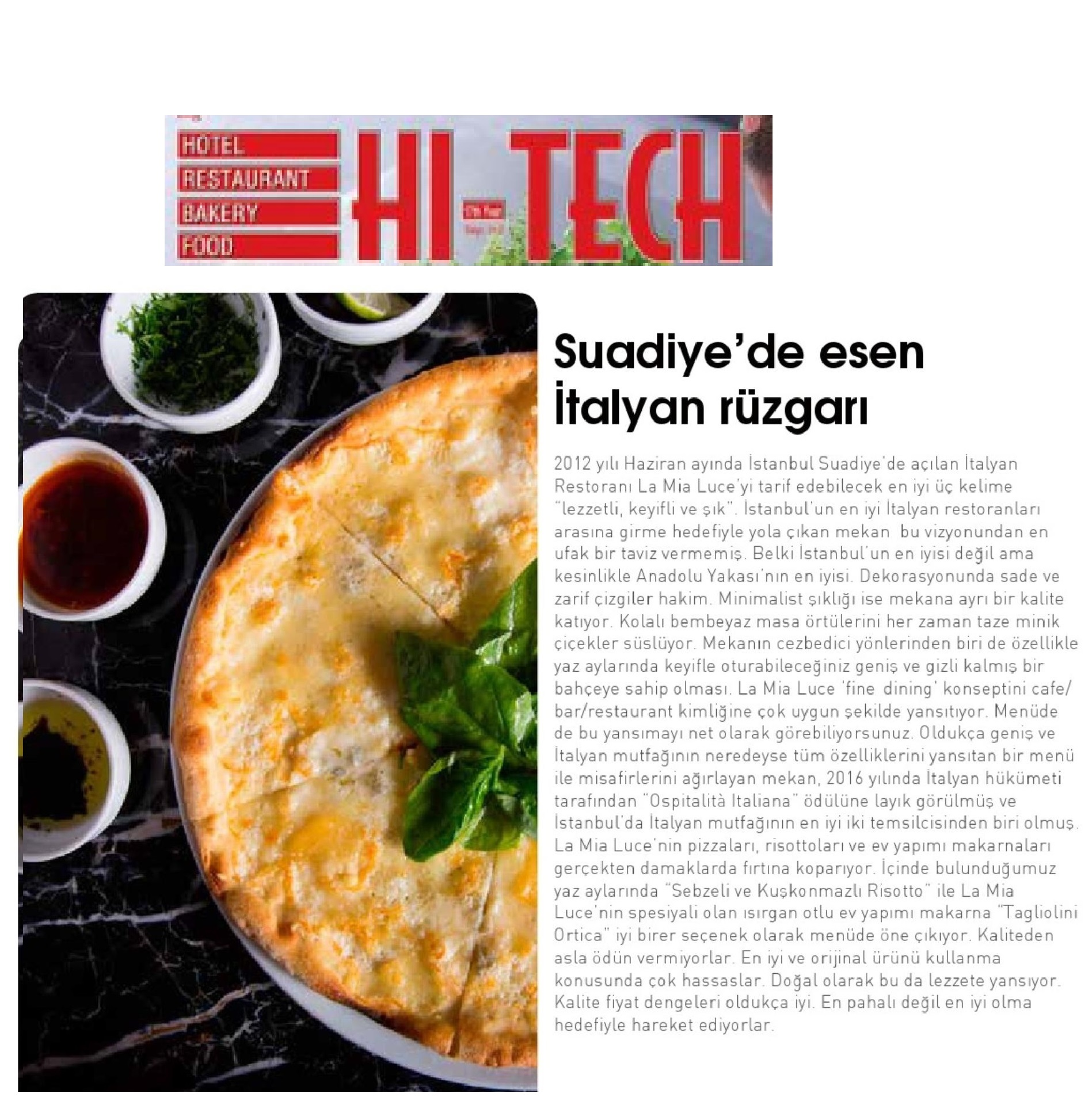 HOTEL RESTAURANT HI-TECH 2018-07-01